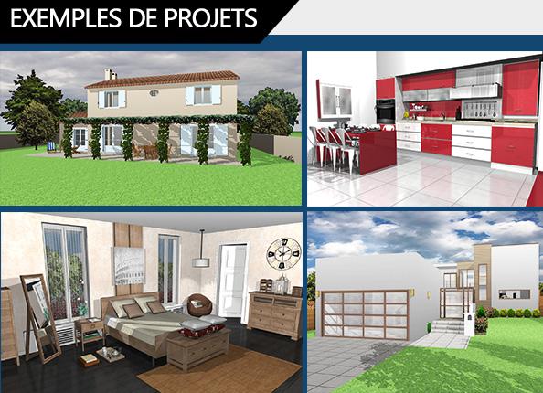 architecte 3d silver 2017 le logiciel d 39 architecture 3d pour concevoir votre maison ou votre. Black Bedroom Furniture Sets. Home Design Ideas