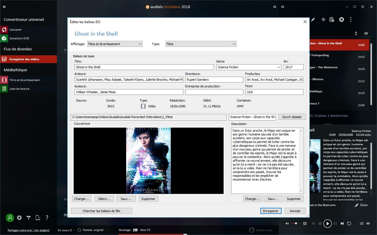 Enregistrez, téléchargez, convertissez films, vidéos et DVD où que vous soyez !