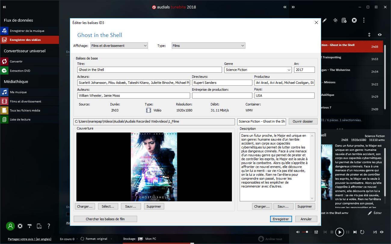Enregistrer et convertir de la musique, des films et des DVDs en toute légalité !