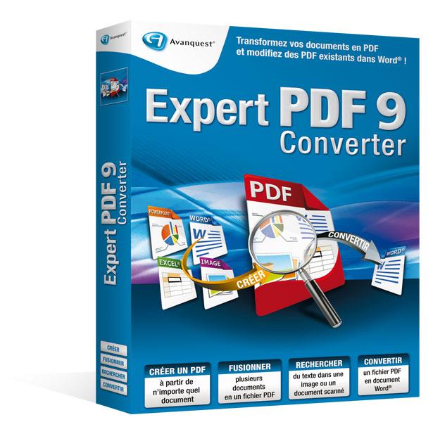 Expert PDF9 Converter - Mise à jour