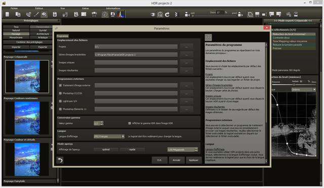 Le logiciel le plus performant pour la création dimages HDR