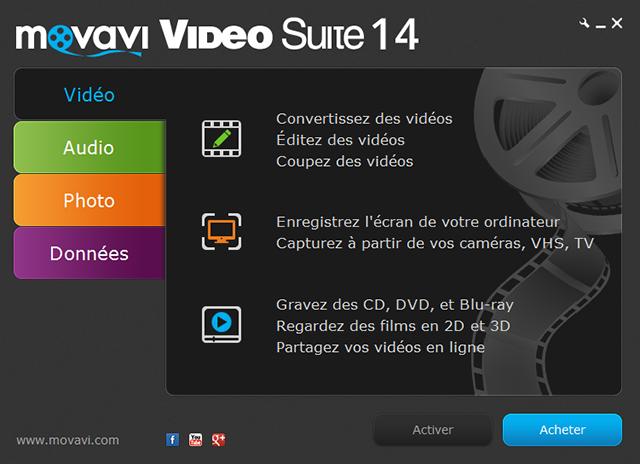 Créez, convertissez et gravez vos vidéos!