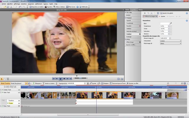 Le montage vidéo haute définition en toute simplicité.