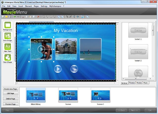 Personnalisez le menu de votre vidéo !