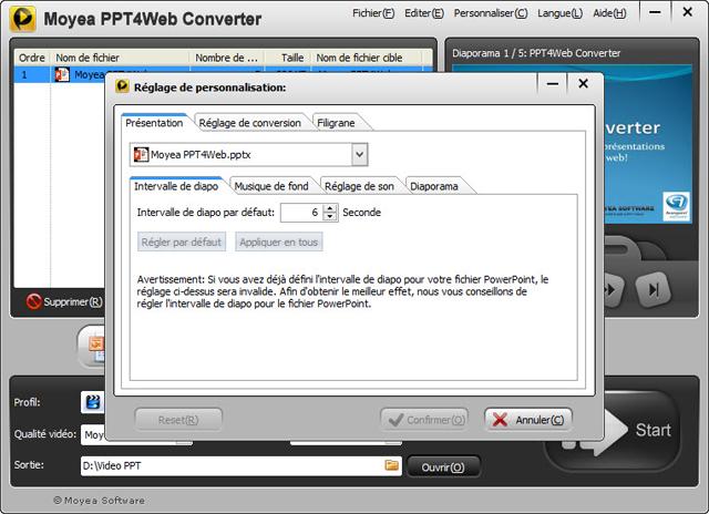 La conversion facile des PowerPoint en vidéo web !