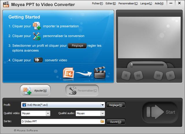 La conversion facile des PowerPoint en vidéo !