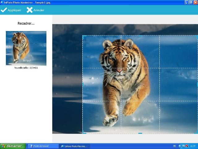 Agrandissez vos images à lextrême !