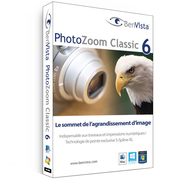 PhotoZoom Classic 6 Pour Windows