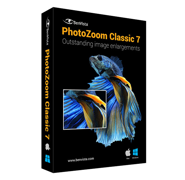 PhotoZoom Classic 7 Pour Windows