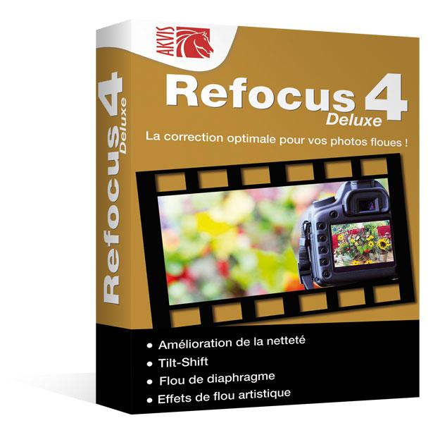 Refocus 4 Deluxe pour Mac