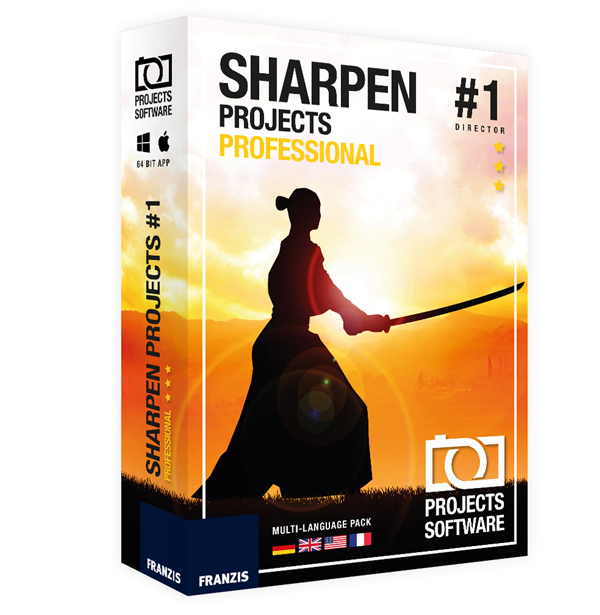 Sharpen projects Professional for Mac