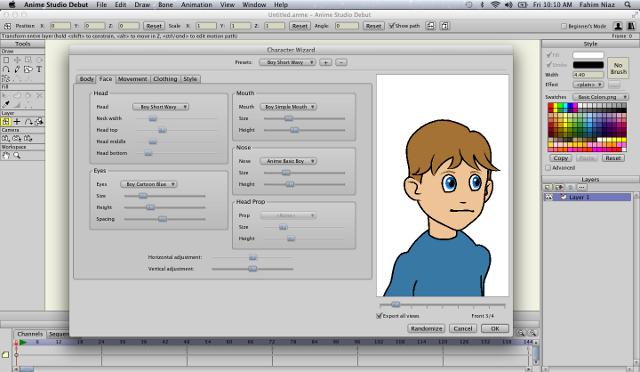 ¡Cree sus propios dibujos animados!