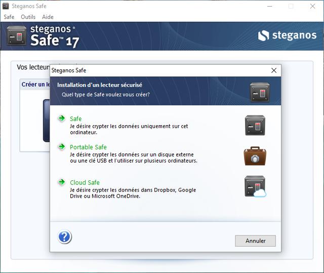 Faîtes le choix de la sécurité : conservez toutes vos données confidentielles et personnelles avec le coffre-fort Steganos Safe 17 !