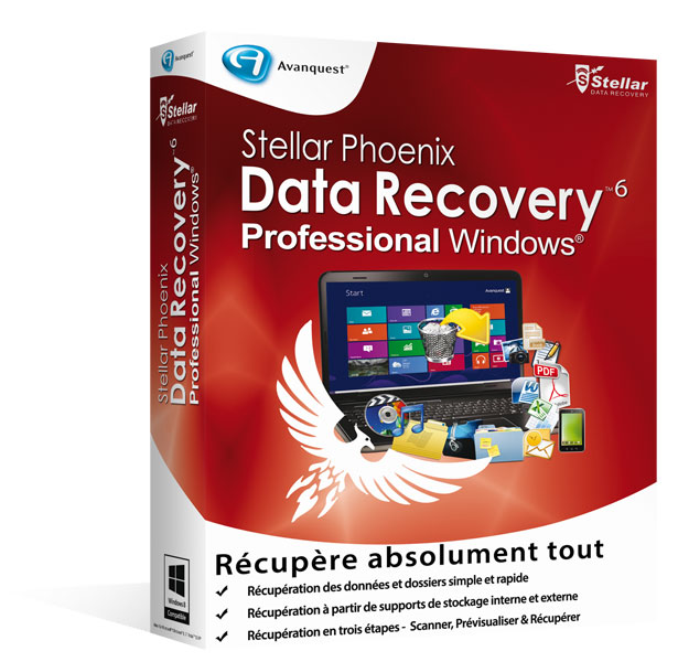 Stellar Phoenix Windows Data Recovery 6 - Professional