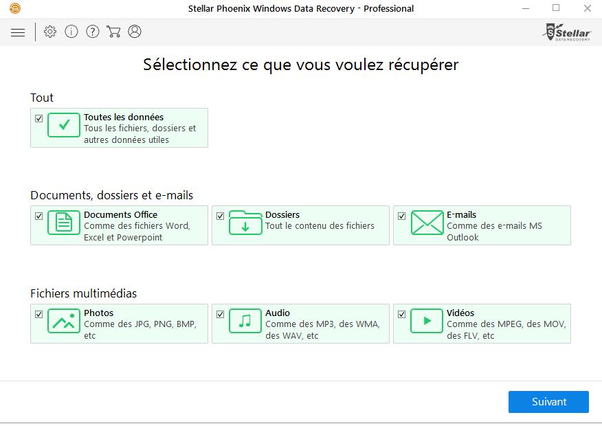 La meilleure solution pour récupérer vos données perdues ou supprimées !