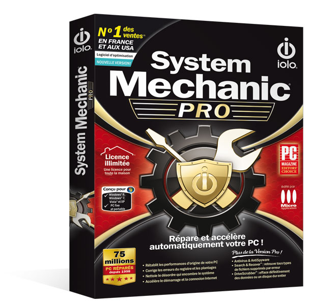System Mechanic Pro 15.5