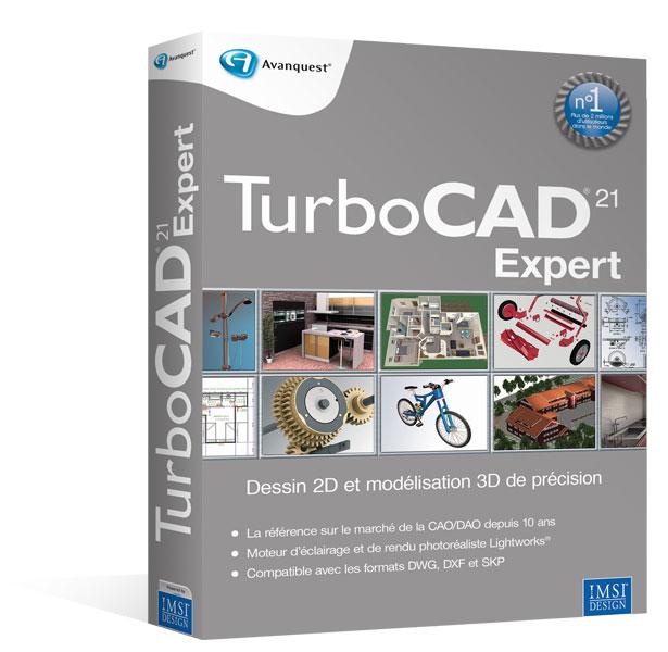 TurboCAD 21 Expert - Mise à jour depuis la version Standard