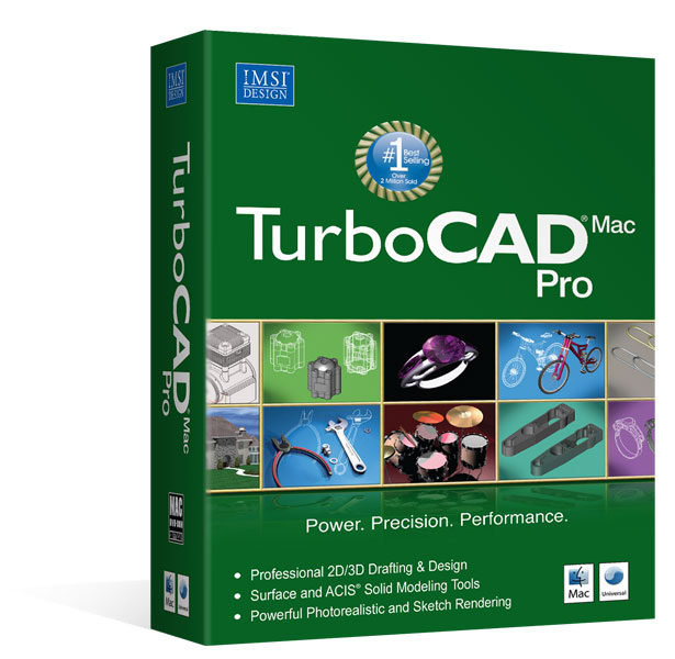 TurboCAD PRO V9 Mac - Version anglaise