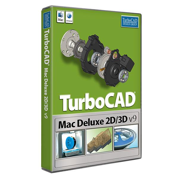 TurboCAD Deluxe 2D/3D V9 Mac