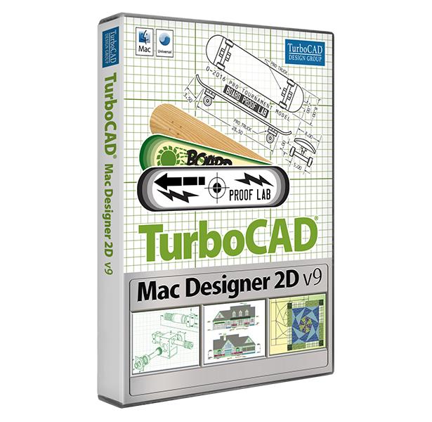 TurboCAD Designer 2D V9 Mac