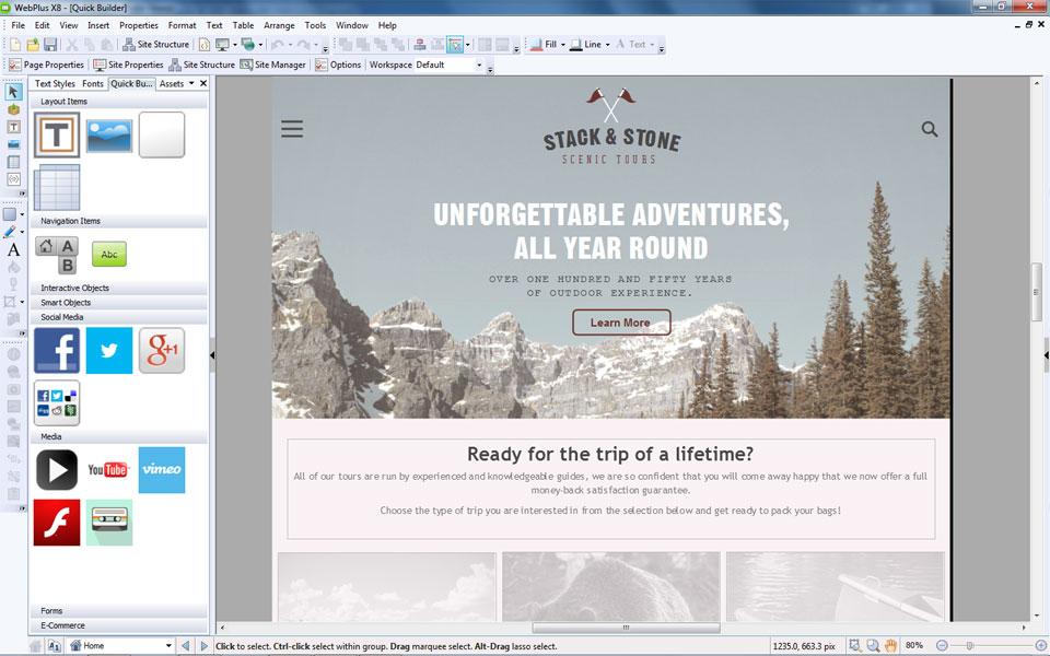 Alle Tools für das Design Ihre eigenen Webseite