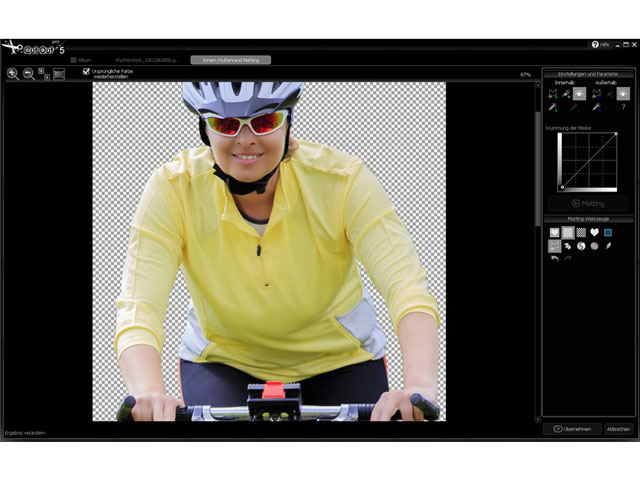 The digital cutting tool for flawless photos