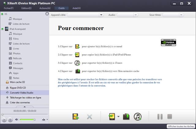 Convertir, organiser et partager des fichiers entre iPad,  iPhone, iPod et PC n'a jamais été aussi simple !