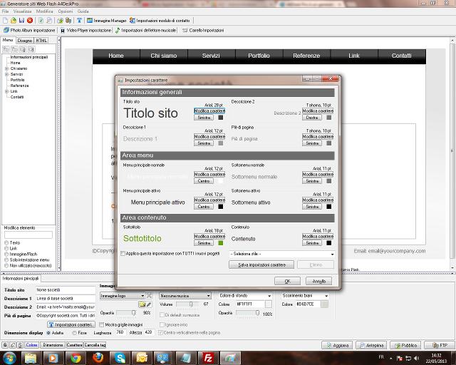 Lo strumento per creare siti Web Flash e presentazioni multimediali