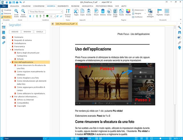 Converti, crea e modifica i tuoi file PDF