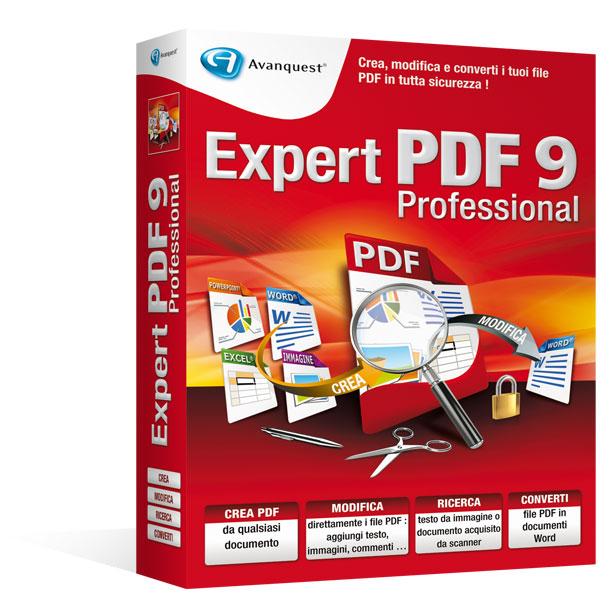 Expert PDF9Professional - Aggiornamento