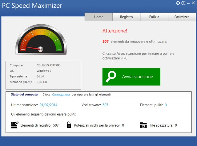 Ottimizza e velocizza il tuo PC in pochi clic