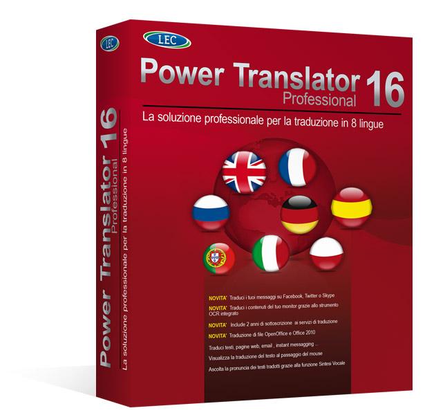 Power translator 16 professional il miglior software di for Miglior software di casa