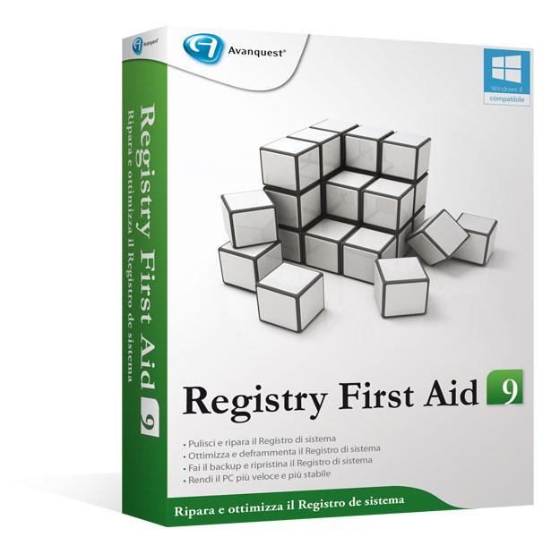 Registry First Aid 9 - Aggiornamento