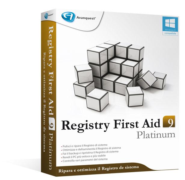 Registry First Aid9 Platinum - Aggiornamento