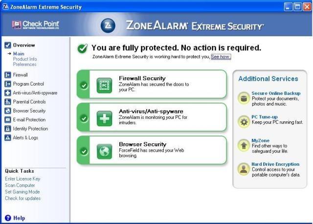La soluzione di sicurezza più completa presente sul mercato. Protegge PC, browser e dati !