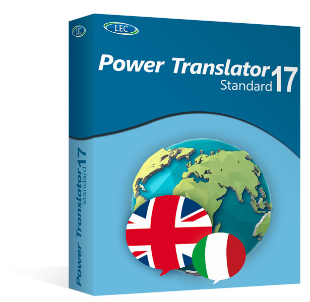 Power Translator 17 Standard - ITALIANO ↔ INGLESE