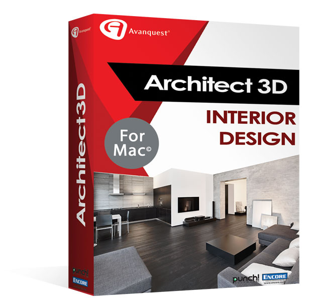 Architect 3D Interior Design 2017 V19 MAC
