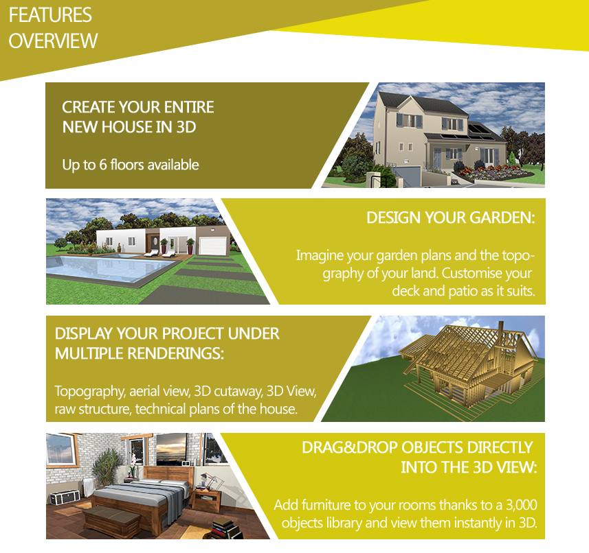 Architect 3D Gold 2017: Design And Equip Your Dream Home