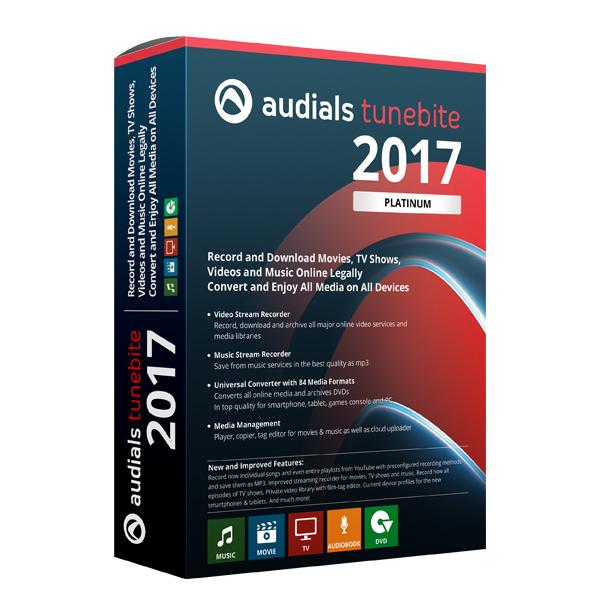 Audials Tunebite Platinum 2017