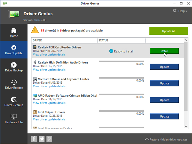 Keep your drivers up-to-date automatically and keep your PC running like new!