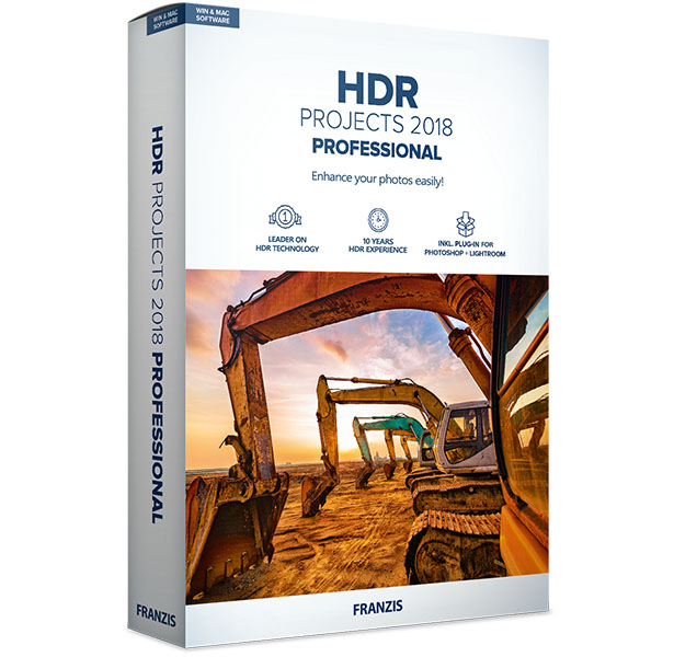 HDR projects 2018 professional for Mac