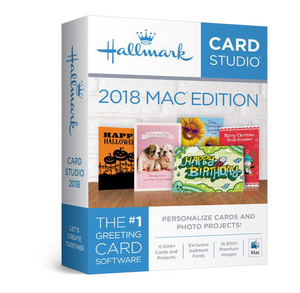 Hallmark Card Studio 2018 For Mac