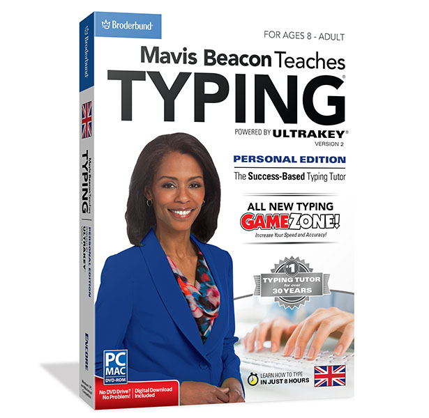 Mavis Beacon Teaches Typing Personal Edition Mac V2