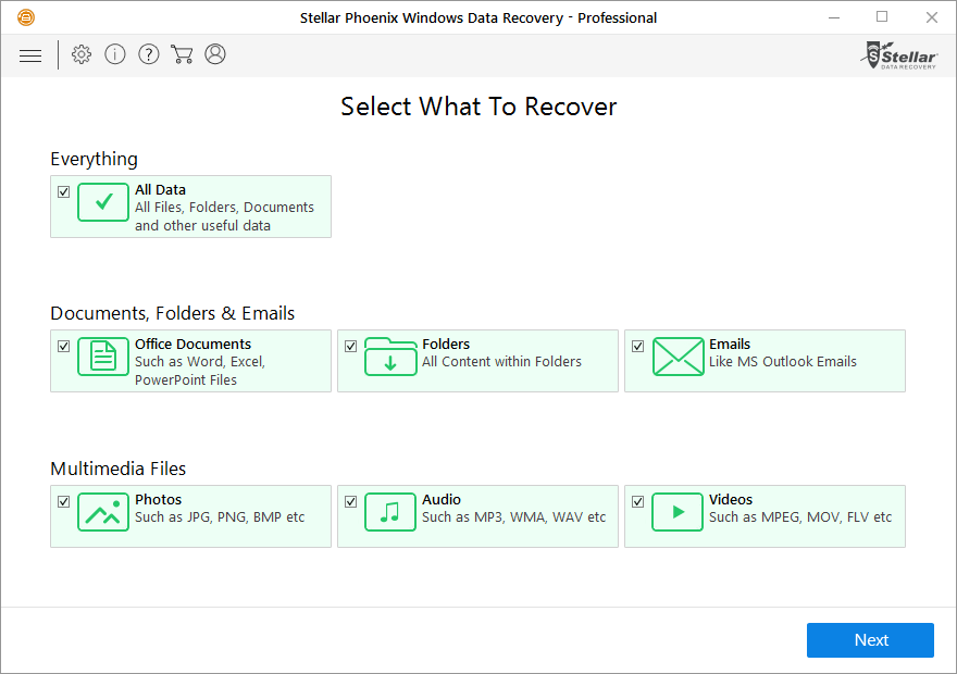 Restore your data and directories!