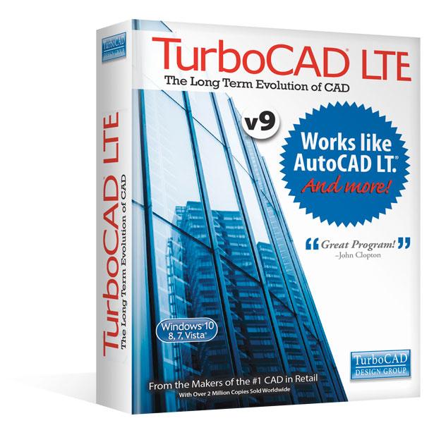 Turbocad Lte V9 Works Like Autocad Lt And More