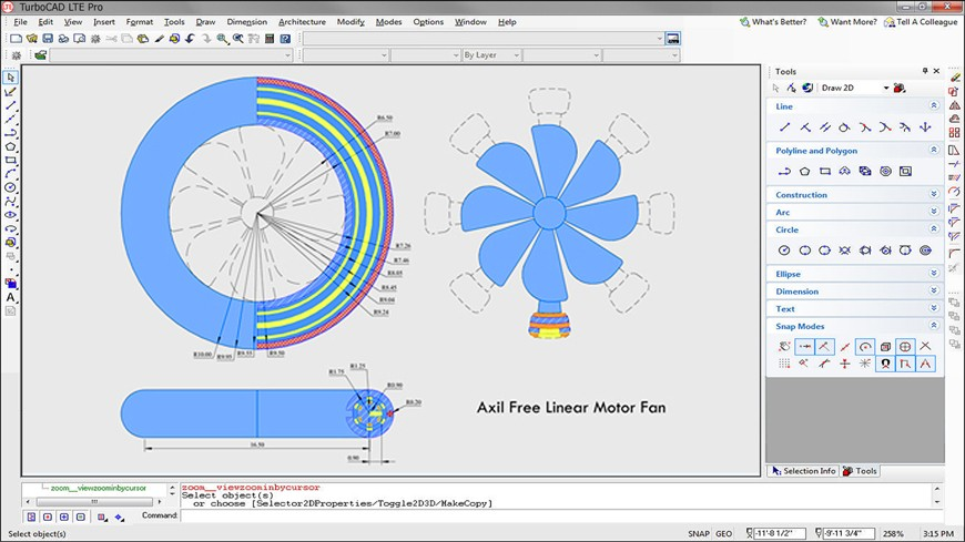 Works like AutoCAD LT®and more!