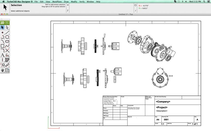 Turbocad Mac Designer 2d Precision 2d Drafting Design