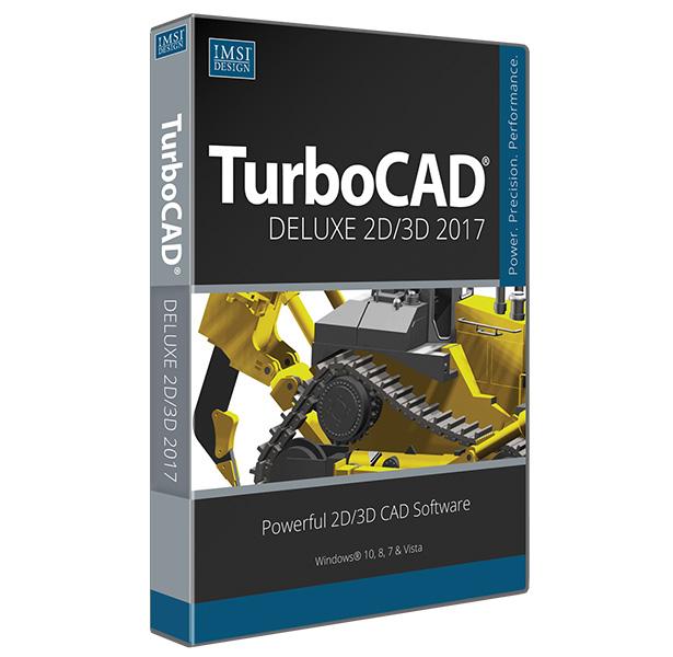 TurboCAD Deluxe 2016 Upgrade