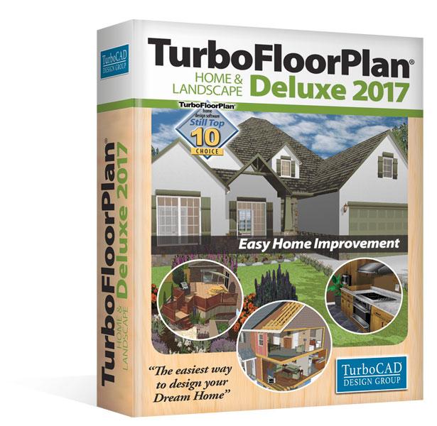 TurboFloorPlan 3D Home & Landscape Deluxe