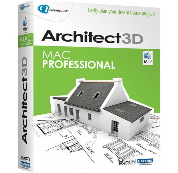 Architect 3d for macintosh pro edition design and equip for Architect 3d mac
